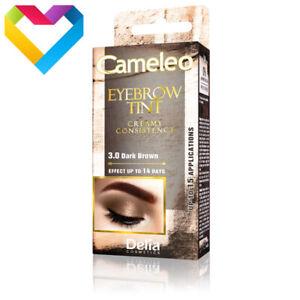DELIA-Tint-CAMELEO-CREAM-EYEBROW-HENNA-TINT-3-0-DARK-BROWN-15ml
