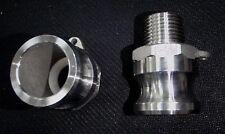 Stainless Steel Cam Lock Adapter 12 Male 12 Npt Male Nipple Cl24 050