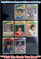 ☆ Topps 1978 Football Orange Back Cards 1 to 54 (G) *Please Choose Cards*