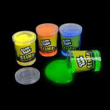 Pack of 12X Glow in The Dark Slime 3