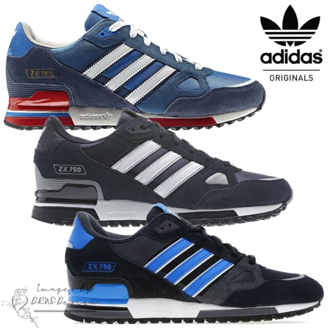 lowest price b2b29 23656 ✅ 24Hr Delivery✅Adidas Originals ZX750 Men's Suede Trainers Sports Running  Shoes
