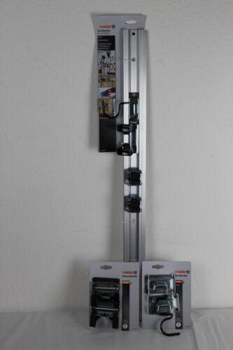 Meister Set Geräteleiste  Werkzeugleiste 80cm Aluminium+9952540+9952400
