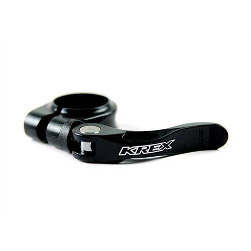 Black KREX Aluminum 34.9mm MTB Mountain Road Bike Bicycle Seatpost Clamp