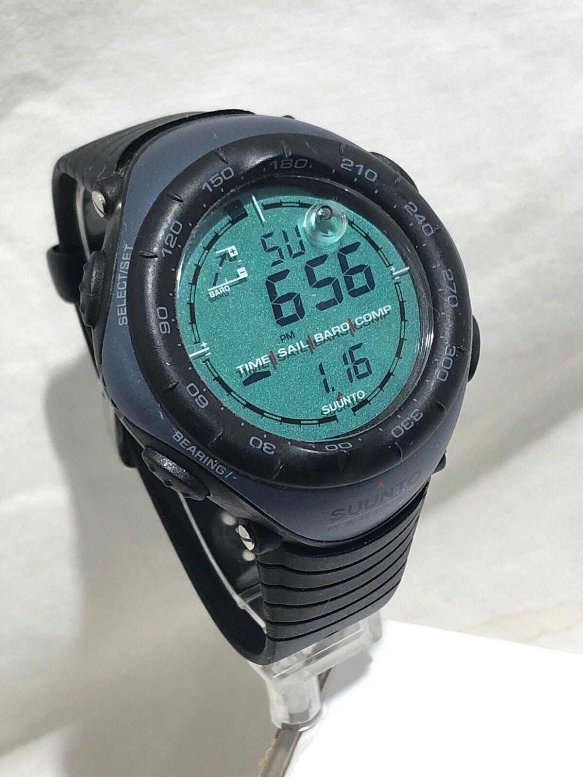 SUUNTO Marine Sailing Compass Barometer Watch Excellent
