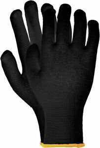 12 Paar Schutzhandschuhe Baumwolle Flexible Arbeitshandschuhe weiß