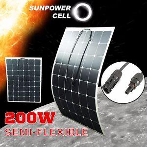 200W-18V-Semi-Flexible-Solar-Panel-Battery-Charger-For-RV-Boat-Caravan-Motorhome