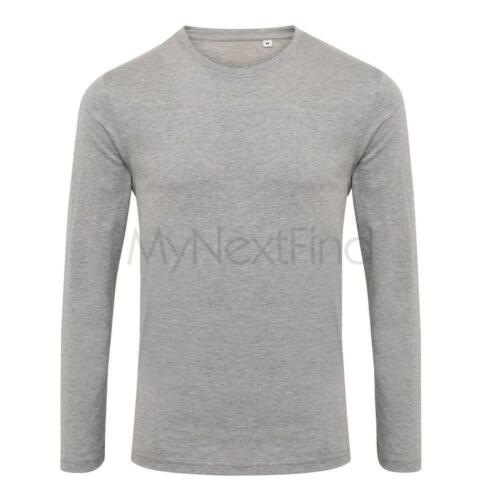 AWDis TS /& Polo T-shirtriblend T-shirt manica lunga