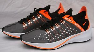 Details about Nike EXP X14 SE Just Do It Black Orange Mens Running Shoes Size 11 (AO3095 001)