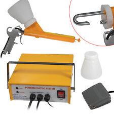 33w Portable Electrostatic Powder Coating System Paint Spray Gun Machine 25 Ns