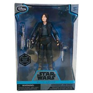 Disney-Star-Wars-Elite-Series-Sergeant-Jyn-Erso-Premium-Action-Figure-10-034-New