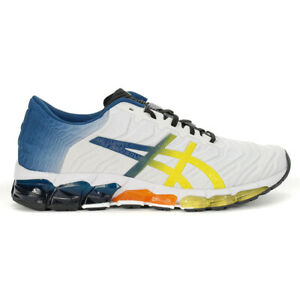ASICS Men's Gel-Quantum 360 5 White/Sour Yuzu Sportstyle Shoes 1021A173.100 NEW