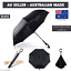 Upside-Down-Windproof-Inverted-Reverse-C-Handle-Folding-Umbrella-With-Carry-Bag thumbnail 65