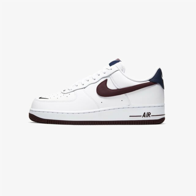 Size 13 - Nike Air Force 1 '07 LV8 White Night Maroon for sale ...