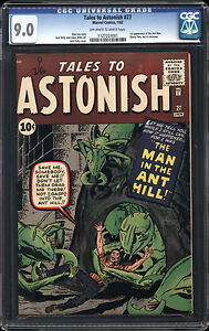 Tales-to-Astonish-27-CGC-9-0-VF-NM-Marvel-1st-Ant-Man-Avengers-OW-W-Pages-RARE