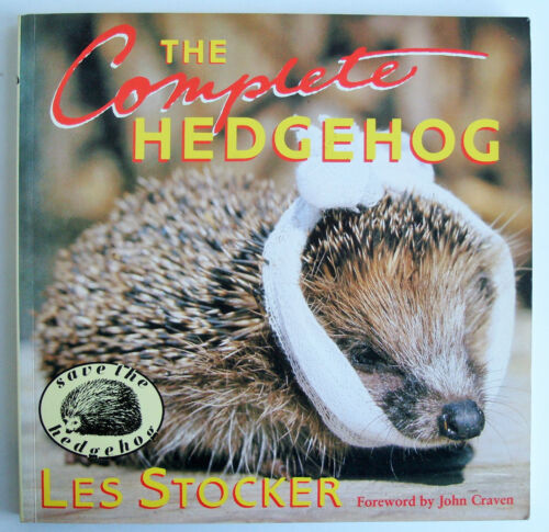 1 of 1 - THE COMPLETE HEDGEHOG Les Stocker 1987 St Tiggywinkles PB illustrated VGC