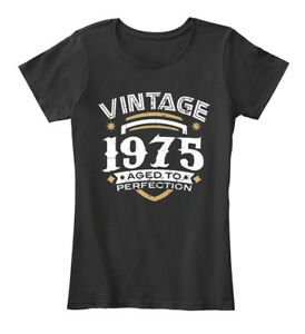 Cool Vintage 1975 Aged To Perfection - Women's Women's Premium Tee T-Shirt