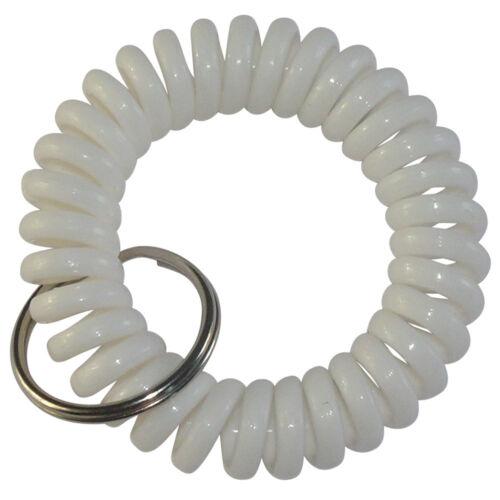 Spiralband für das Handgelenk keyfix Schlüssel Armband Fitness Schlüsselband