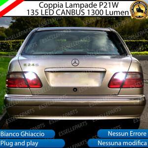 COPPIA LUCI RETROMARCIA 15 LED P21W BA15S CANBUS VOLVO V60 NO ERROR
