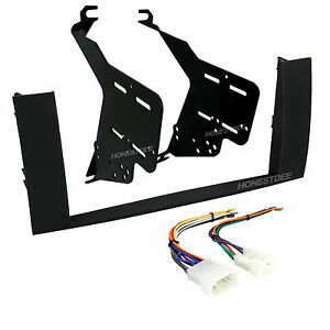 95-8240B Double Din Radio Install Dash Kit & Wires for Prius