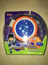 TOMY DISNEY JR MILES FROM TOMORROWLAND BLASTBUCKLE FLASH DISCS DISC LAUNCHER N5
