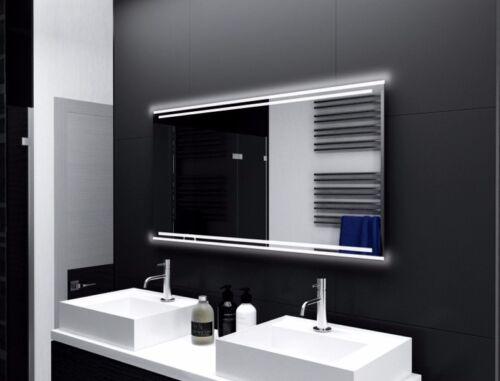 Badspiegel mit LED Beleuchtung Badezimmerspiegel Bad Spiegel Wandspiegel M127