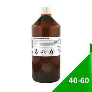 Petroleum-Ether-40-C-60-C-1-Litre-Petroleum-Spirit-Same-Day-Shipment