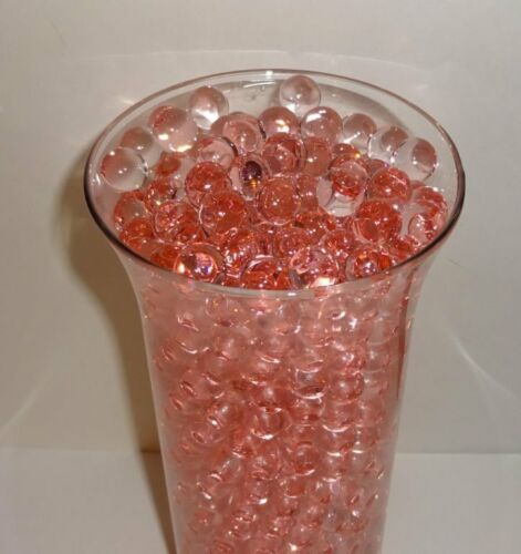 1 pound bulk package Water Beads Peach