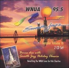 WNUA 95.5: Smooth Jazz Sampler, Vol. 16 by Various Artists (CD, Oct-2003, 2 Disc