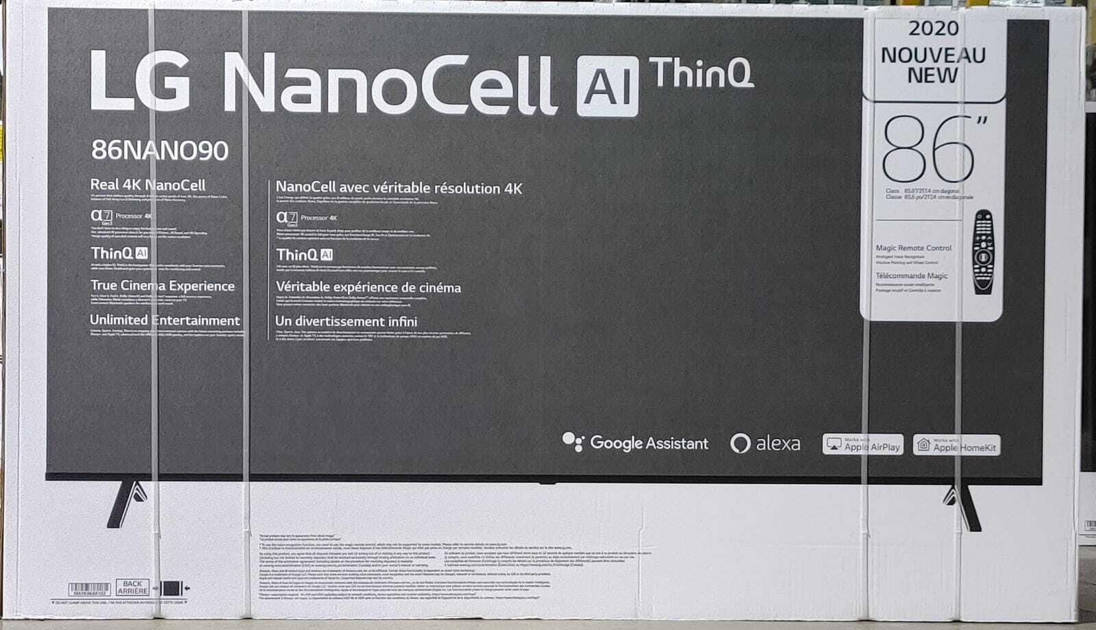 LG 86NANO90UNA Nano 9 Series 86