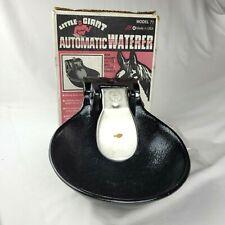 Little Giant Automatic Livestock Waterer Push Paddle Epoxy Coated Cast Iron 77