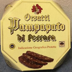 Pampapato-Ferrara-Scatola-Ottagonale-cioccolato-estense-gr-300-I-G-P-ORSATTI