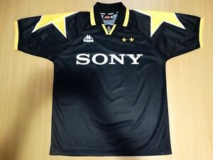 finest selection d18c2 e7408 Details about RARE JUVENTUS 1995 1996 SONY KAPPA SHIRT JERSEY THIRD  FOOTBALL MAGLIA L