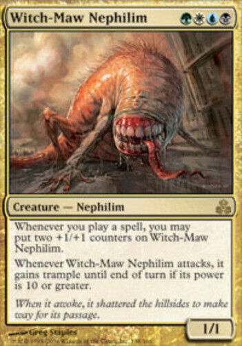 Witch-Maw Nephilim Guildpact LP Foil English MTG Magic FLAT RATE SHIP