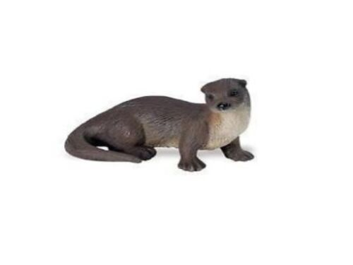 Otter 7 cm Serie Animales Salvajes América Del Norte Safari Ltd 291529