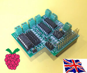 Maplin-Brazo-De-Robot-Control-Board-rs-pi-v2-p5-apoyo-Para-Raspberry-Pi