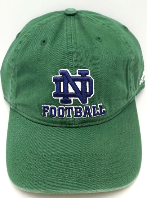 5446f78dfa28c2 University of Notre Dame Hat Relaxed Slouch Football by adidas for ...