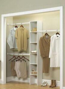 Closetmaid Selectives 12 In White Custom Closet Organizer 7033