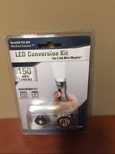 how to change bulb in mini maglite led aa