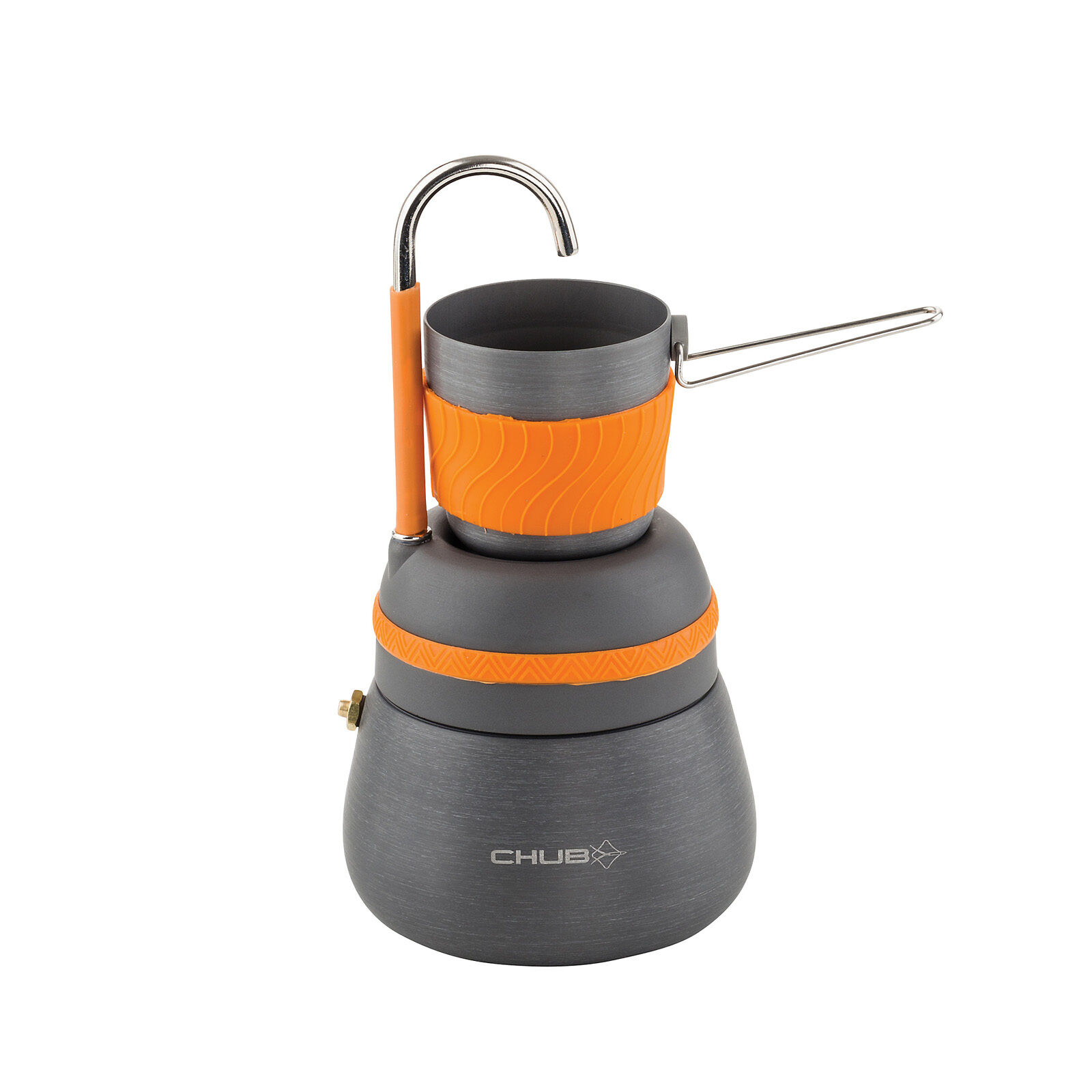 Chub Fishing Lightweight Coffee Maker- Easy Clean, Scratch & Corrosion Resistant