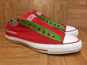 57616c6576df RARE🔥 Converse Chuck Taylor All Star Christmas Santa s Helper Slip ...