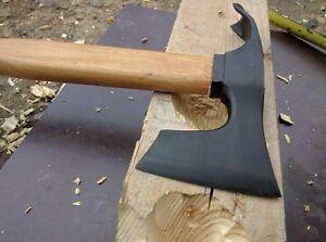 Stahl 4150 Beil Axt mit Dechsel Blade Bushcraft Kleine B/ärtige Axt