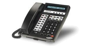 Lot-of-5-Refurbished-Samsung-Prostar-816-Speaker-Display-Phone-Black