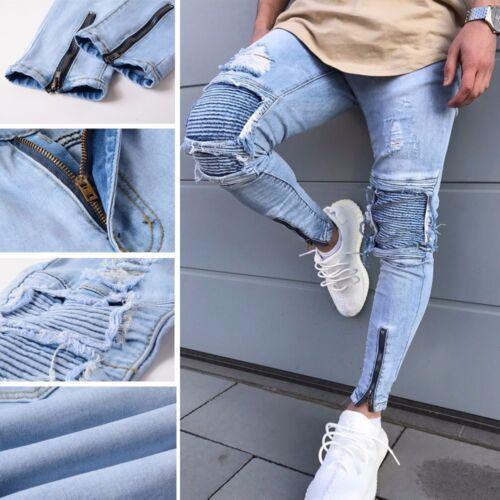 Streetwear Sexy Denim Casual Pour Pantalon Hiphop Jeans Hommes Jeans 1I65YB1