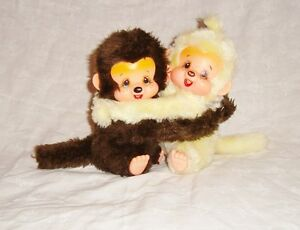 Lot Duo Vintage Couple Peluches Kiki (18cm)