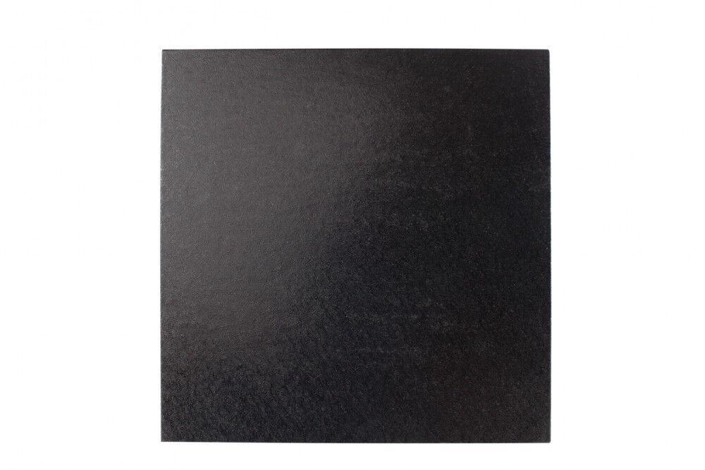 20 x 10  pollici quadrato nero torta TAMBURO Board 1 2  12mm di spessore