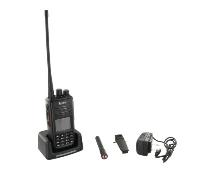 Radio+Cable+Software UHF TYT MD-380 DMR Digital Two Way Radio Bundle