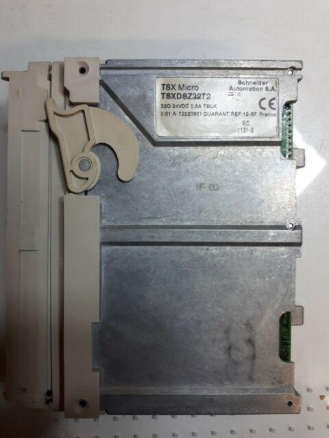 Carte 32 s. trans. 0,5A pour automate Schneider Modicon TSX37 ref : TSXDSZ32T2