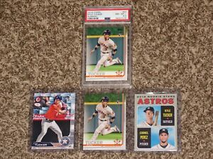 Kyle-Tucker-RC-Bundle-2019-Topps-Bowman-Herritage-Rookie-Card-PSA-8-8-5-Lot-HOT
