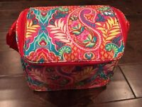 New Vera Bradley Paisley in Paradise Stay Cooler Lunch Tote/Box  SLR Camera Case