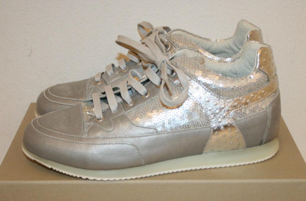 Candice Cooper Sneaker hellgrau silber grau Gr.39
